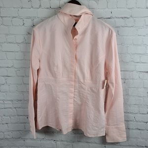 Arista Equestrian Fitted Riding/show Blouse L/G